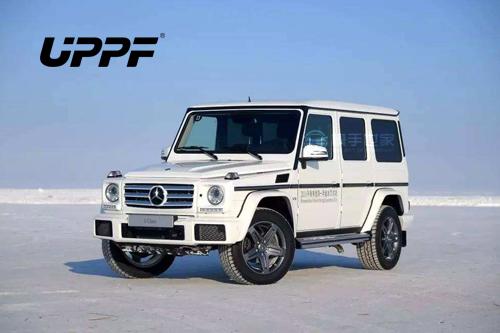 奔驰G500贴UPPF隐形车衣漆面