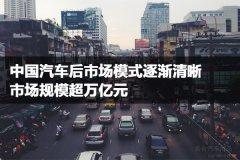 中国汽车后市场模式逐渐清晰,市场规模超万亿