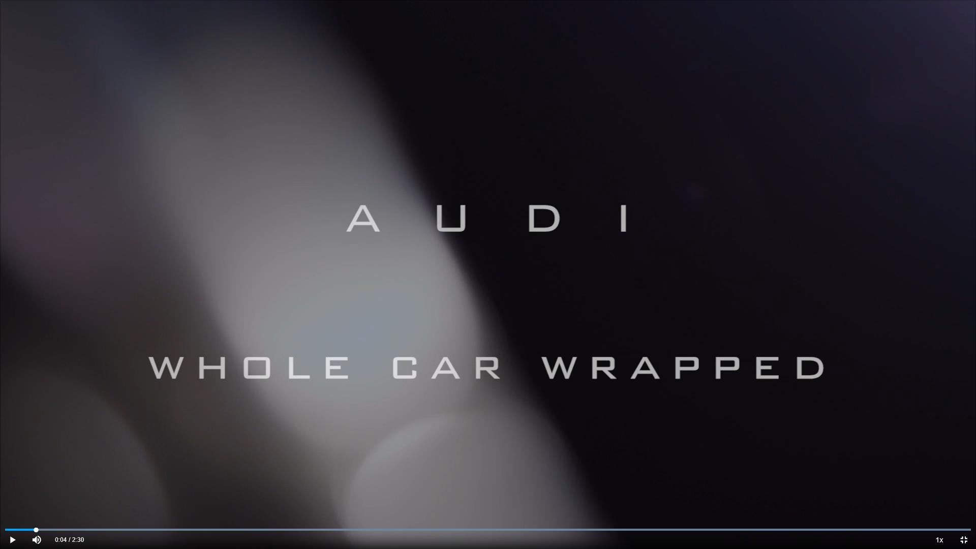 奥迪A8贴UPPF优帕隐形车衣效果
