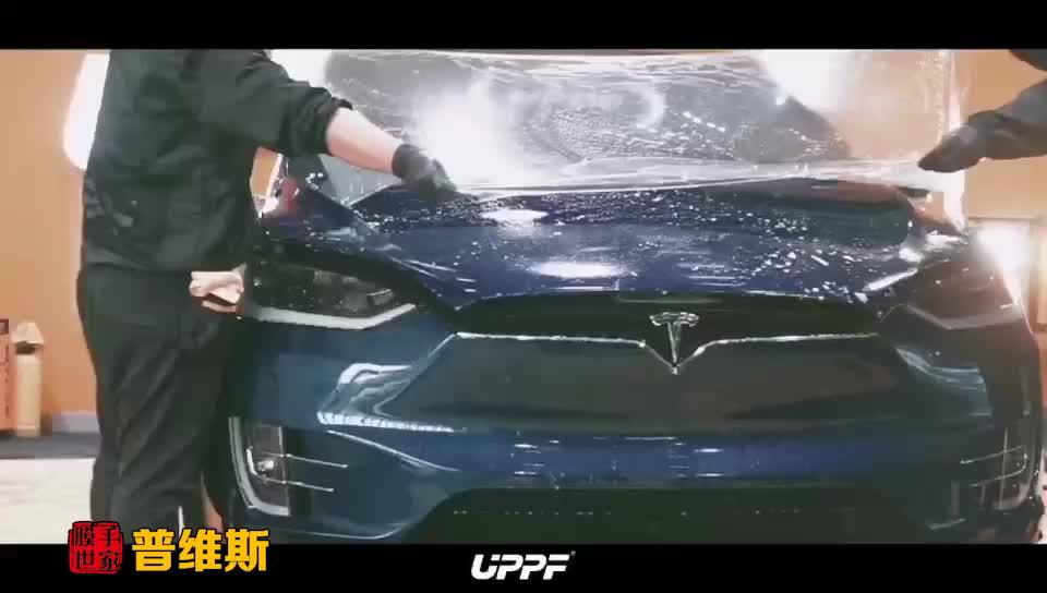 特斯拉贴UPPF优帕隐形车衣案例