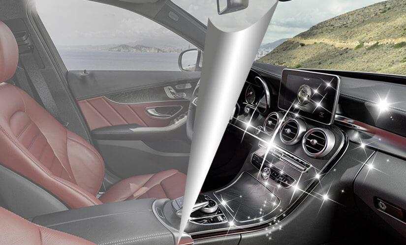 威固隔热膜保护汽车内饰